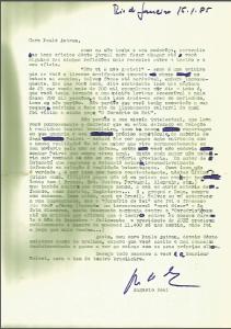 """""""Não vi e não gostei!"""": carta de Boal a Paulo Autran"""