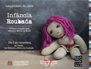 """Comissão da Verdade de SP lança livro """"Infância Roubada"""""""