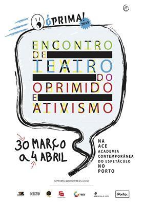 Óprima: 5o Encontro Teatro do Oprimido e Ativismo