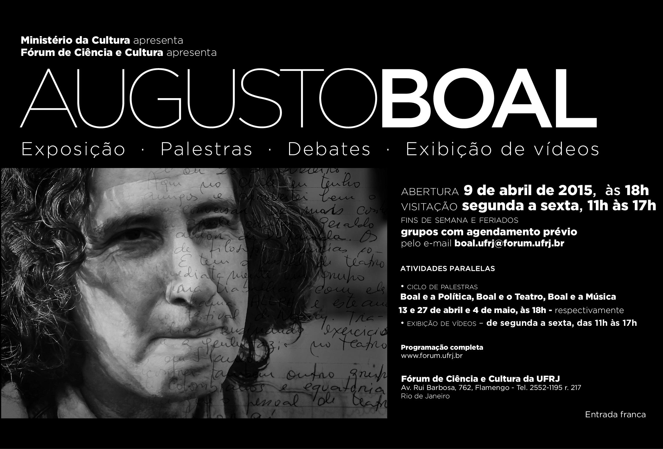 Volta a ser apresentada a Exposição Augusto Boal