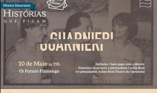"""Exibição do filme """"Guarnieri"""" no Rio de Janeiro"""