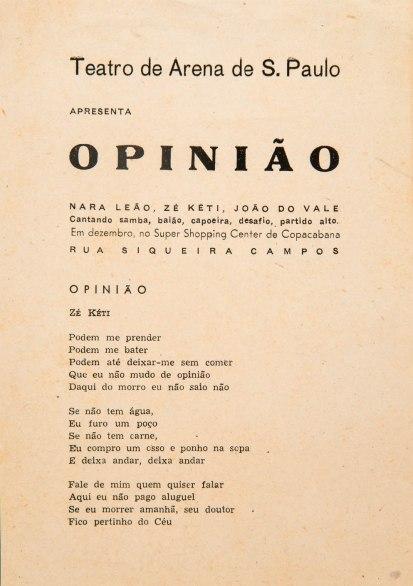 Show Opinião, show-verdade