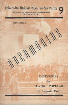Categorias de Teatro Popular
