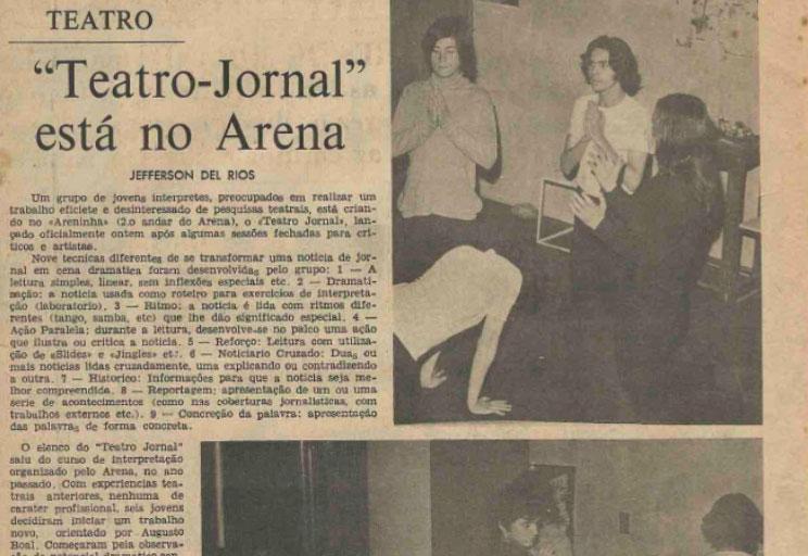 Teatro Jornal – Primeira edição