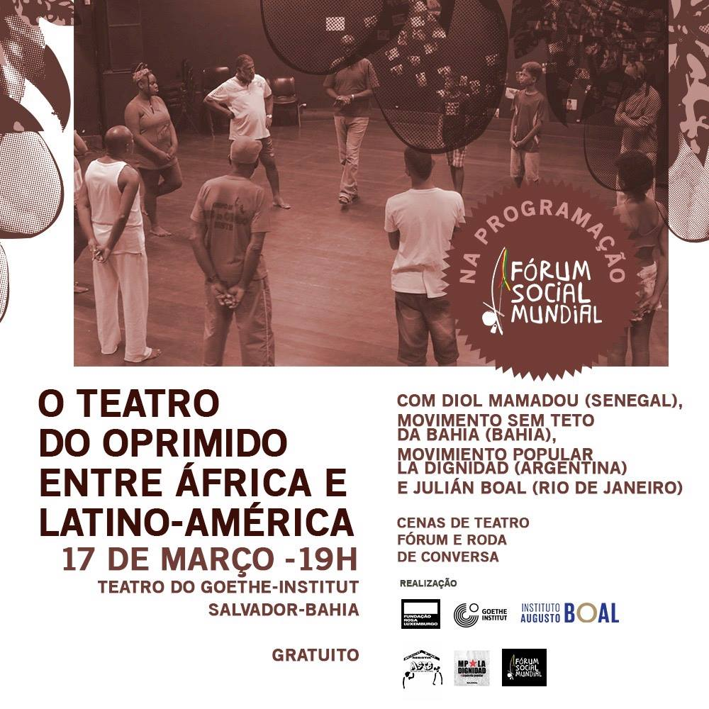 Teatro do Oprimido no Fórum Social, 2003