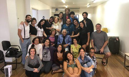 Seminário de dramaturgia latino-americana, com Cecilia Boal