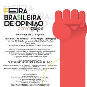 Feira de Opinião – Porto Alegre