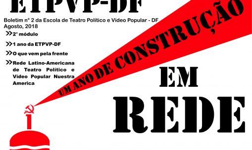 Boletim da Escola de Teatro Político e Vídeo Popular – DF