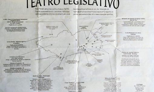 Um mandato com a coragem de atuar junto à população – o Teatro Legislativo em prática